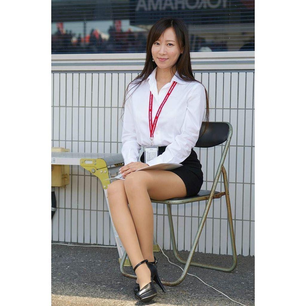サーキットクイーンディレクター和真央さん。今日も人気でした♪ #岡山国際サーキット #岡山国際サーキットクイーン #サーキットクイーンディレクター #和真央 #ピットウォーク #スーパーフォーミュラ http://ift.tt/2s2x1if