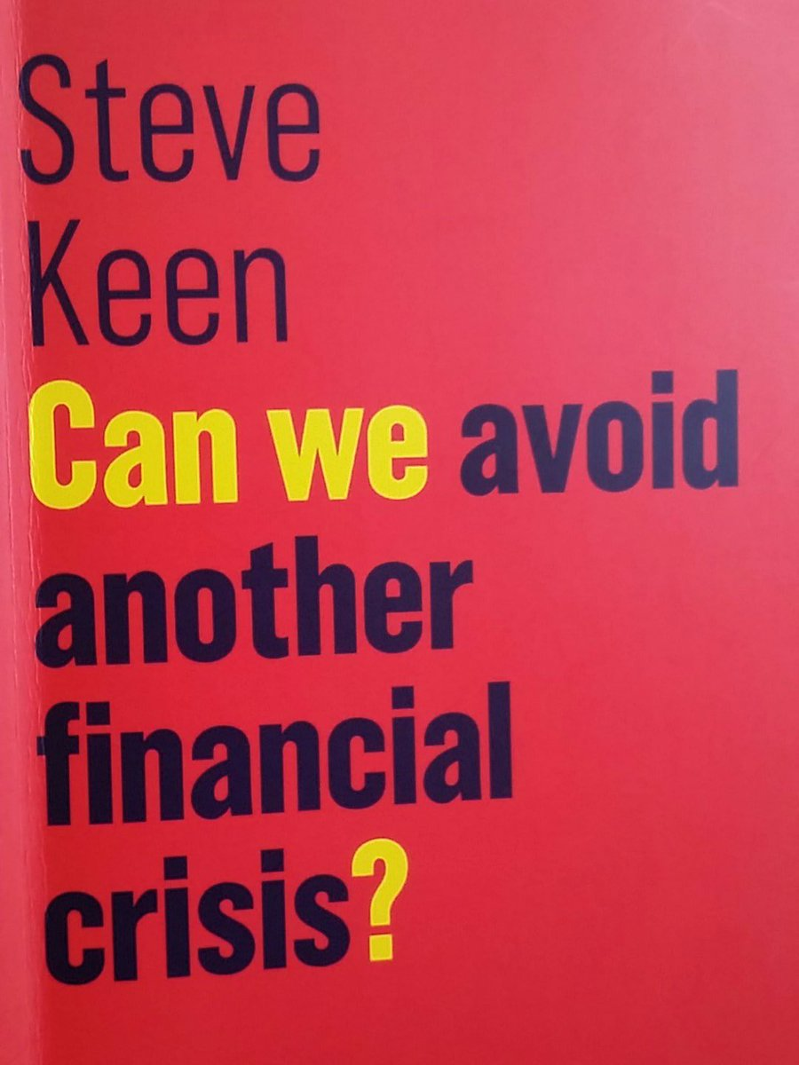 Can we avoid another financial crisis by @ProfSteveKeen read it straight through - eye opening. Gripping page-turner. Love it #econ #finance <br>http://pic.twitter.com/BEBKt2t6nW