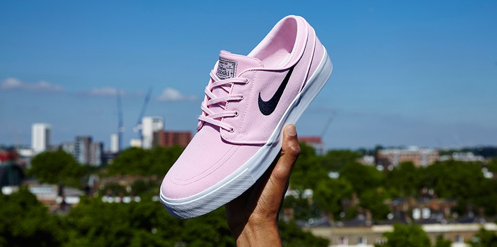 The Nike SB Zoom Stefan Janoski looks pretty in pink, making it our pi...