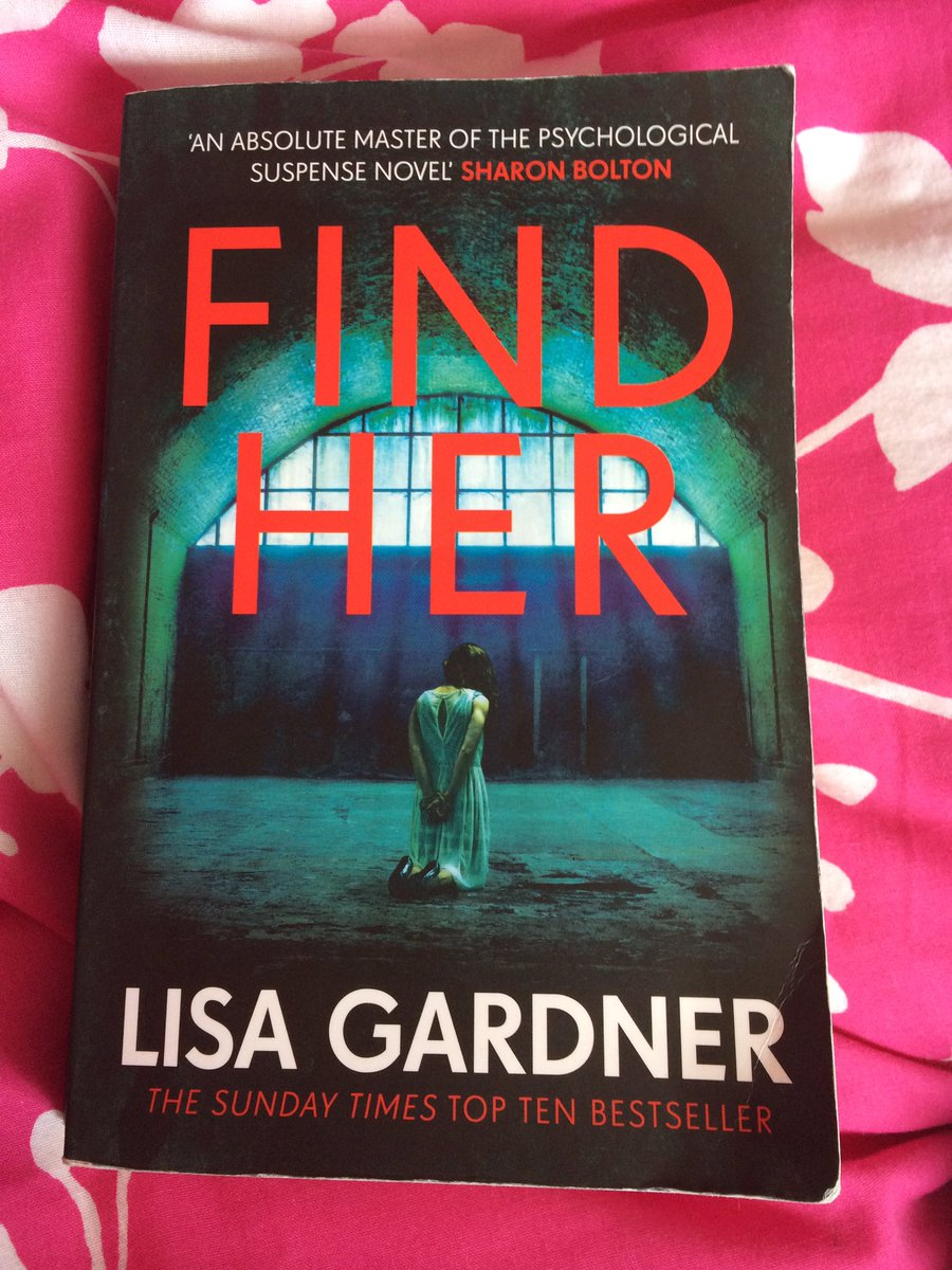 #FindHer by #LisaGardner was disturbingly fascinating and gripping #reading<br>http://pic.twitter.com/RmK9zEBmaR