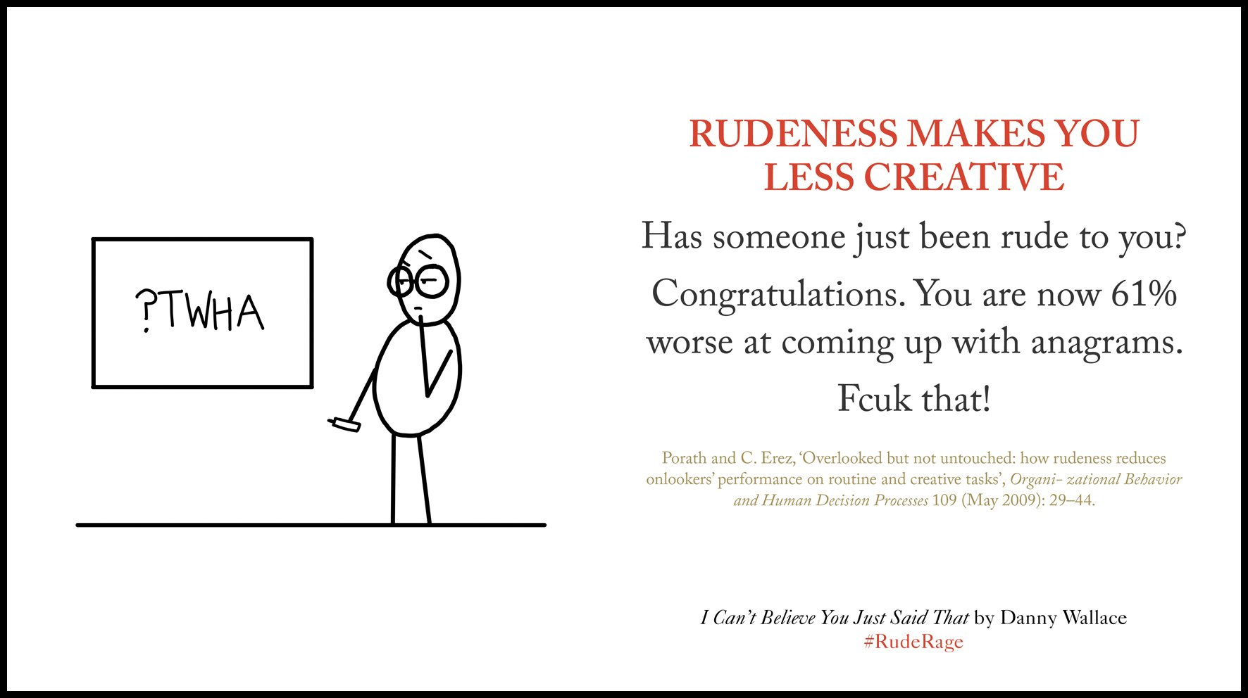 Sunday's (rude) fact about rudeness, from the new book... https://t.co/PsbPxO3zhT #ruderage https://t.co/mcV82qk4Gg