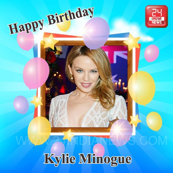 Kylie Minogues Birthday Celebration Happybdayto
