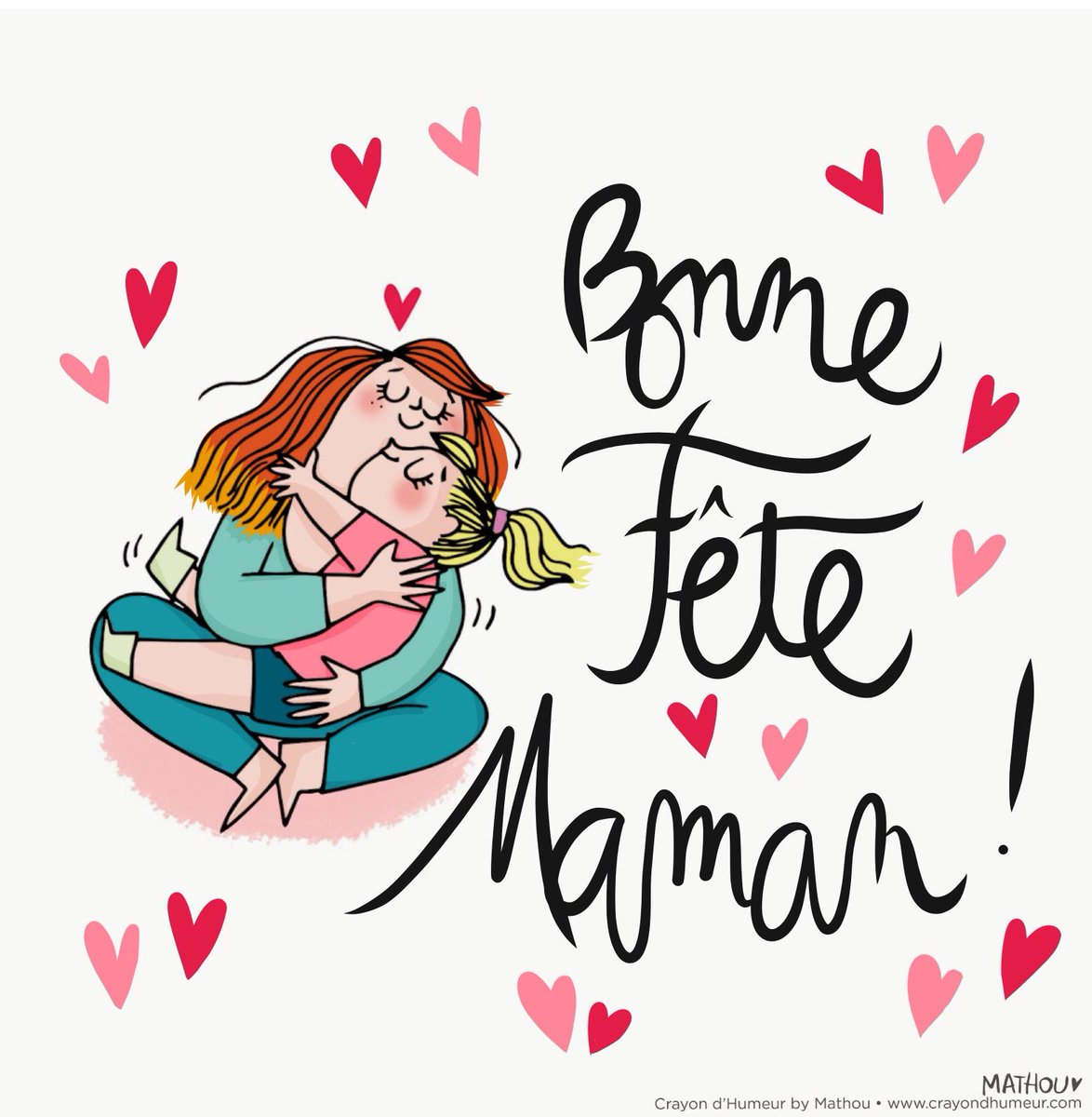 Mathou virfollet on twitter bonne f te maman bonne - Dessin bonne fete maman ...