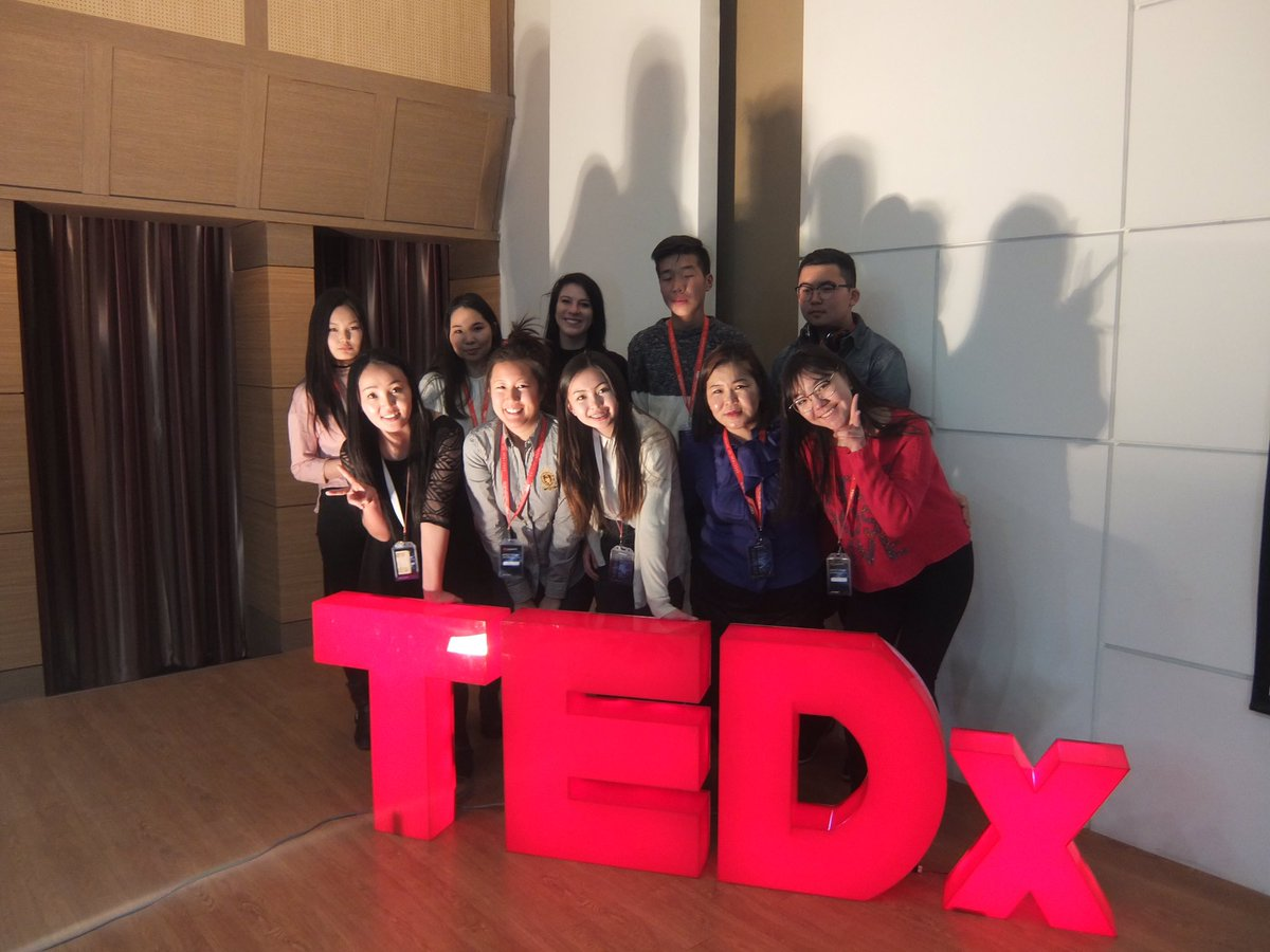 #AAPI PCV Jenni took her students to a #TEDx in Ulaanbaatar to learn about speechmaking in preparation for their local TEDx event.<br>http://pic.twitter.com/XQTPYkONjT