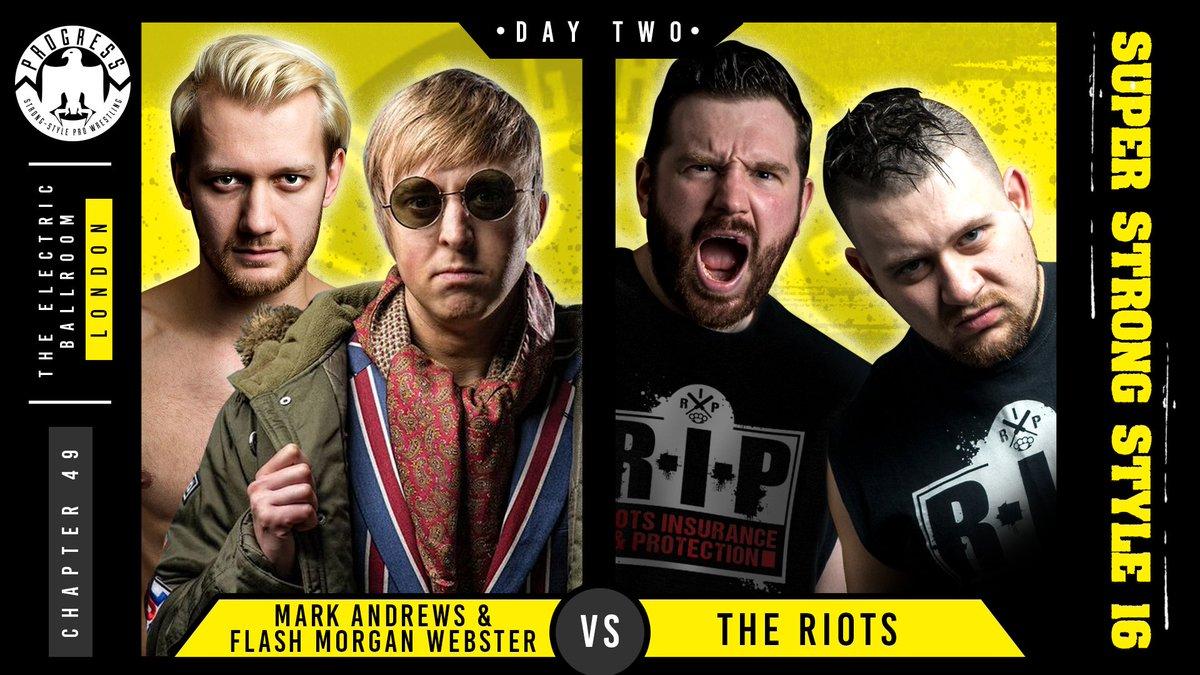 Resultados de Progress Wrestling Super Strong Style 16: Día 1 — Flamita sorprende al público británico 5