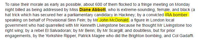 Quite the line up at this 1986 Labour Party Conference fringe meeting - via Times diary.