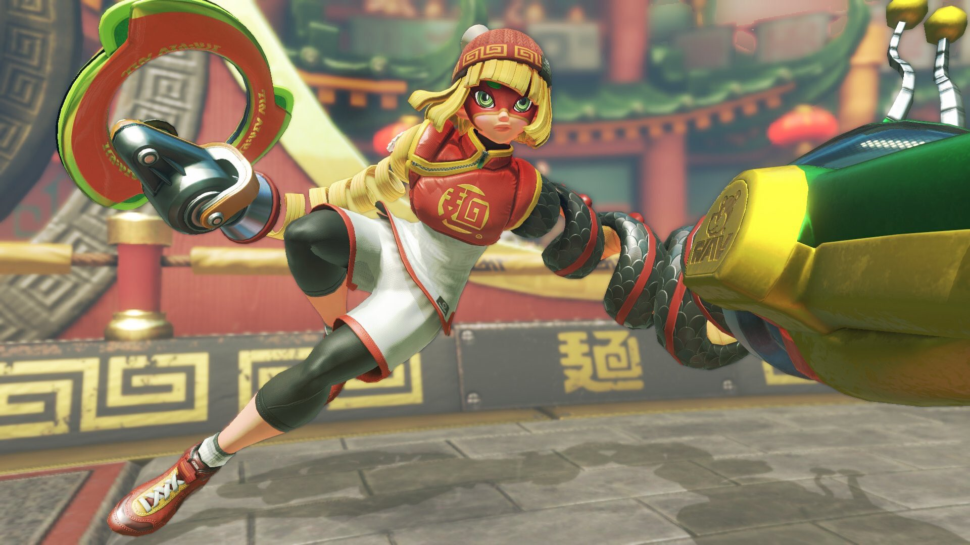 """NinMobileNews on Twitter: """"Change your ARMS Fighter color by ..."""