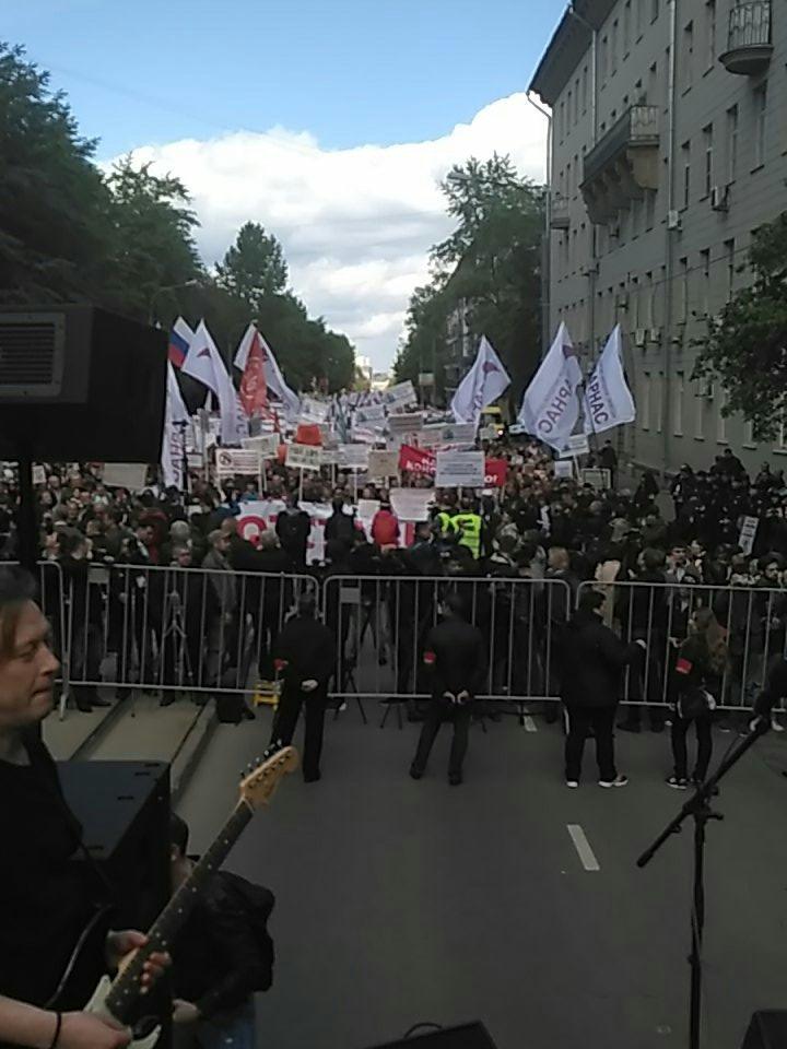 Марш против реновации. Москва 28 мая 2017