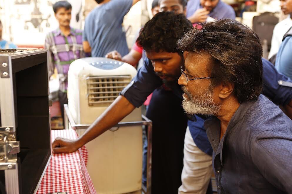 Anand Mahindra sets his eyes on Thar SUV in Rajini's Kaala poster