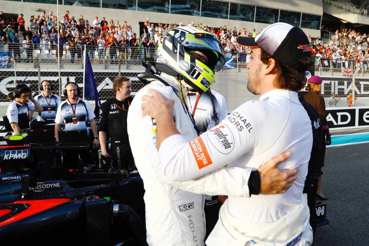 'I'm going to pee in your seat'.  Jenson Button's keeping Fernando Alo...