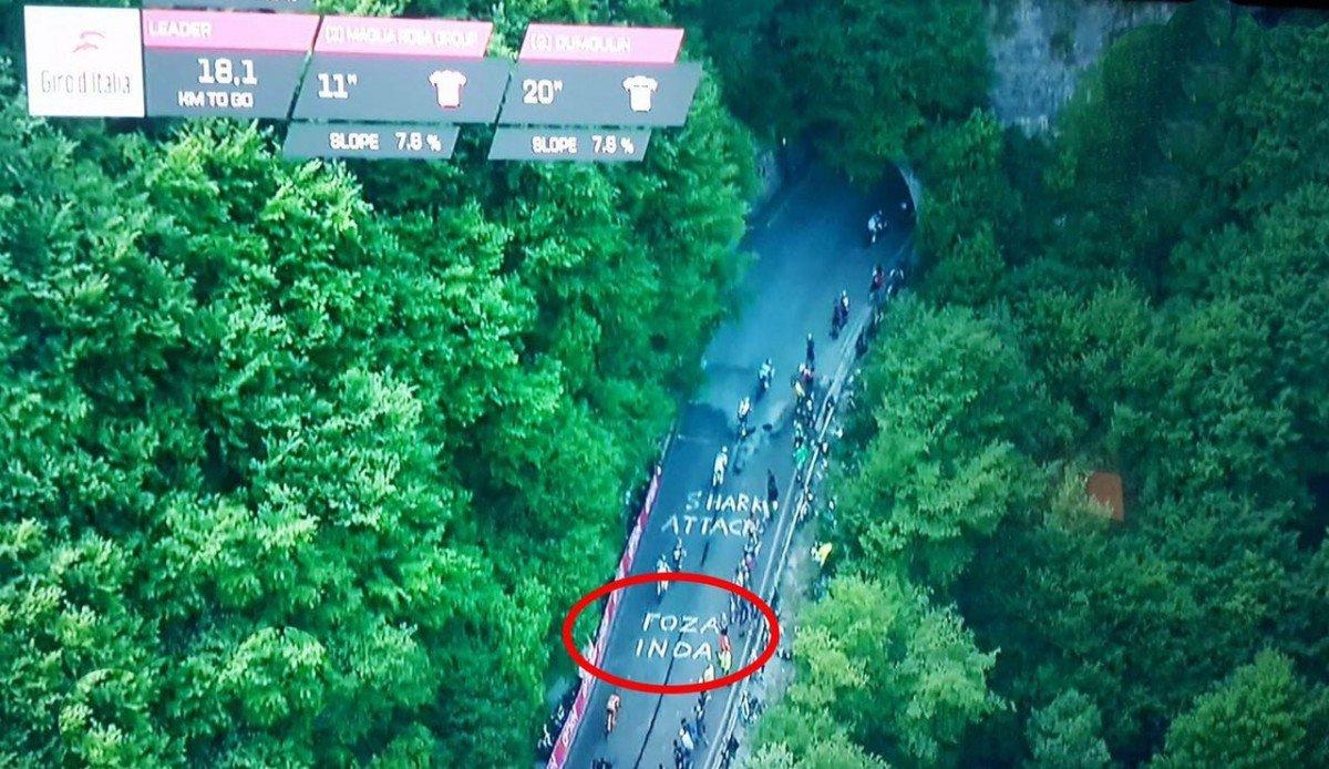 """Giro, nel percorso della cronometro spunta anche un """"Foza Inda"""" - https://t.co/xOzaux1KtQ #blogsicilianotizie #todaysport"""
