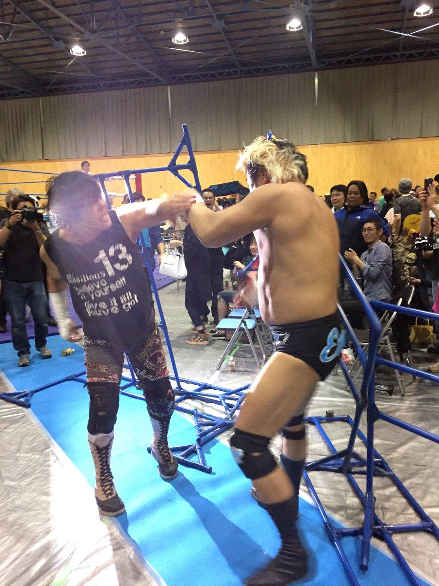 """FMW: Listo el cartel completo para """"Super Battle FMW"""" - 08/06/2017 El inevitable choque entre Atsushi Onita y Suwama 3"""
