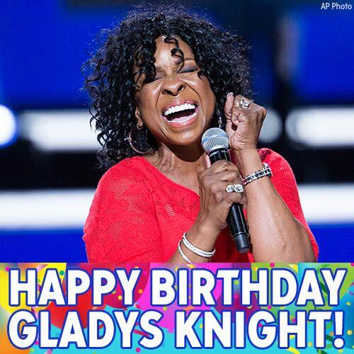 Happy Birthday, Gladys Knight! We hope the singer/songwriter and Empress of Soul has a great day.