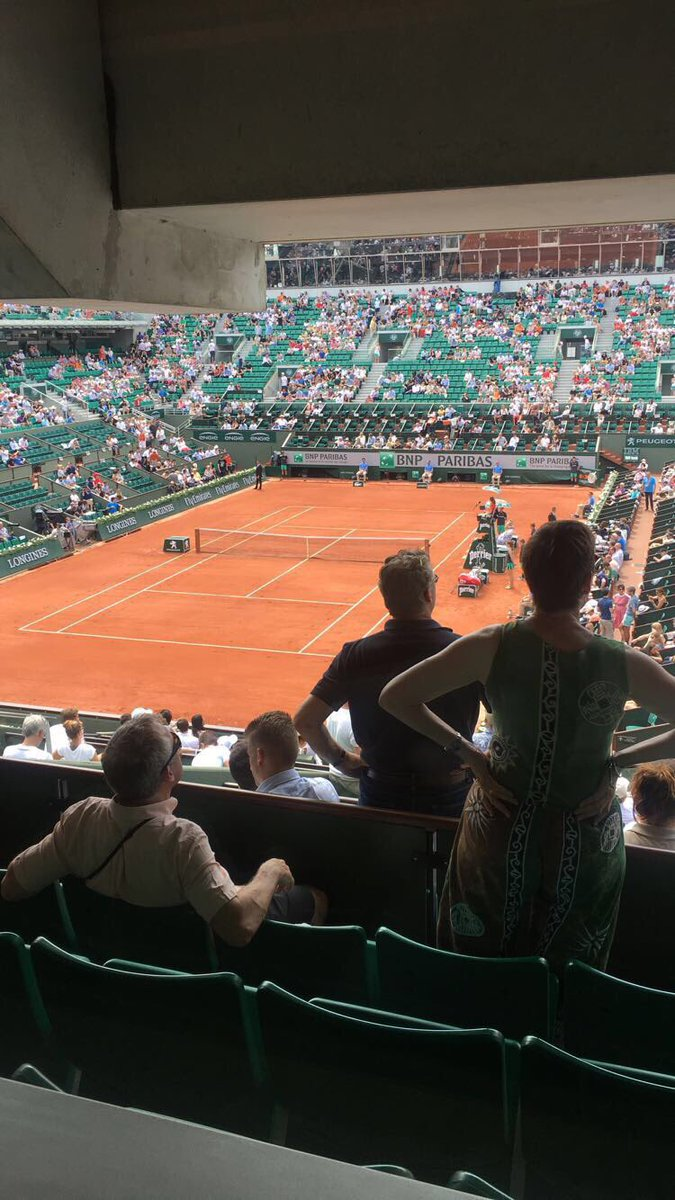 Roland Garros 🎾 #RG17 https://t.co/MZuWvviJqx