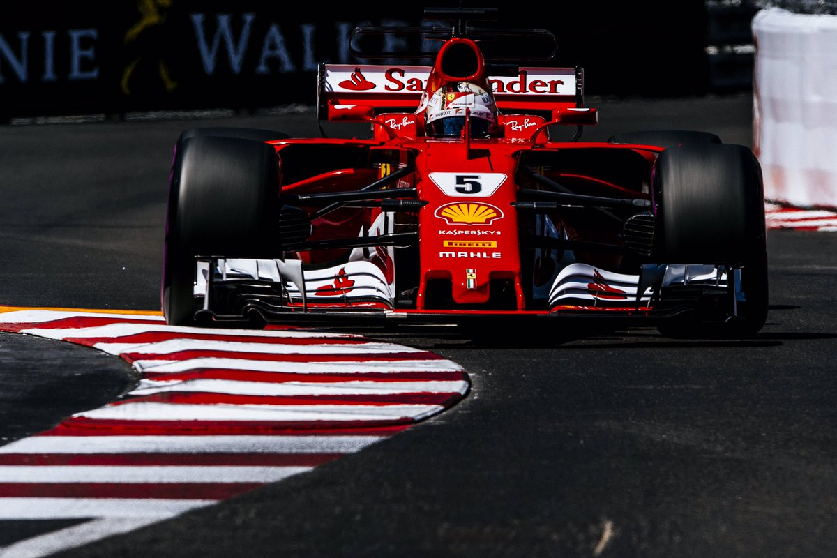 Great 1-2 for the Scuderia, number 82 in Ferrari's history, #Seb5 P1 a...