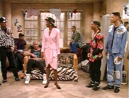 outlet store 33677 2c0ae Original black Jordan 5s were a fav of Will Smith s on  The Fresh Prince.   Aunt Viv had to go save Carlton from the hood lol.pic.twitter.com wS8FDtVnXC
