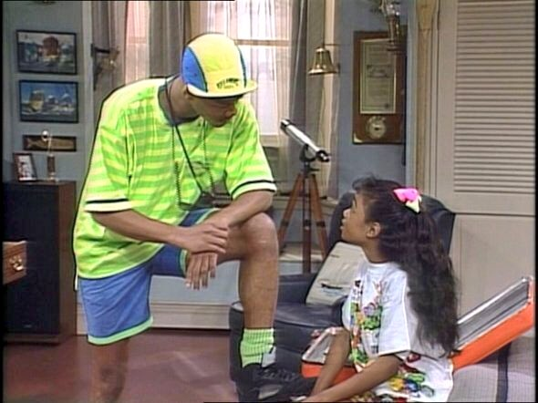 buy popular 63cbe 32846 The 1st episode of  The Fresh Prince of Bel-Air  aired September 10,1990.  Fresh out the cab, Will Smith wore these original black Jordan 5s.pic. twitter.com  ...
