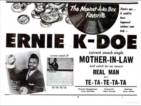 #OTD May28,1961 #ErnieKDoe at #1 on the US singles chart with &#39;Mother In Law&#39;. Written, produced &amp; the piano solo by #AllenToussaint <br>http://pic.twitter.com/4LykSpjTQJ