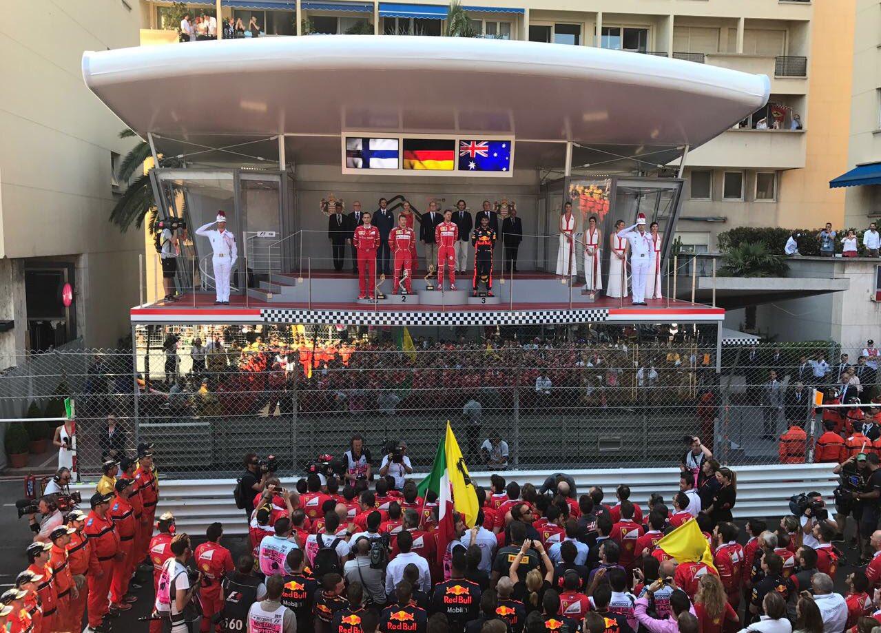 Monacói Nagydíj: Vettel nyert Kimi előtt...