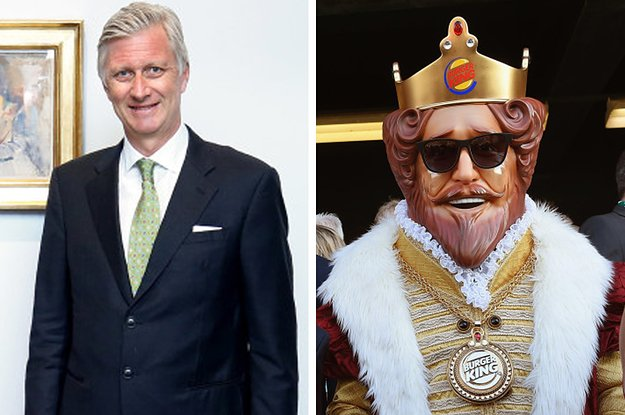 The Royal Family of Belgium are not happy with this Burger King advert...