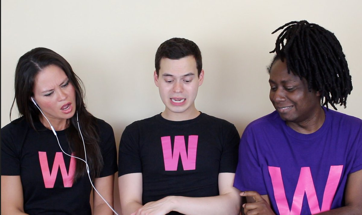 William&#39;s sister has landed in London, so he and @DebanAderemi filmed her reacting to the Barbra Dex Top 5. Video coming soon! #eurovision <br>http://pic.twitter.com/ekmK5fa6IO