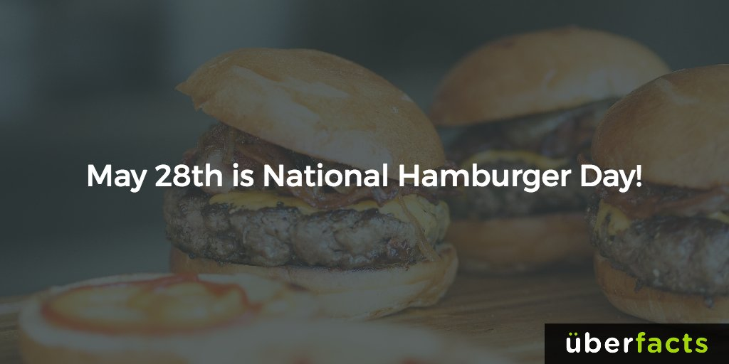 #NationalHamburgerDay https://t.co/pbEJUTgZoq