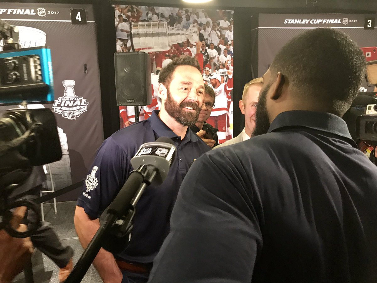 P.K. Subban is now interviewing Vern Fiddler. https://t.co/Ha3XYrmcX0