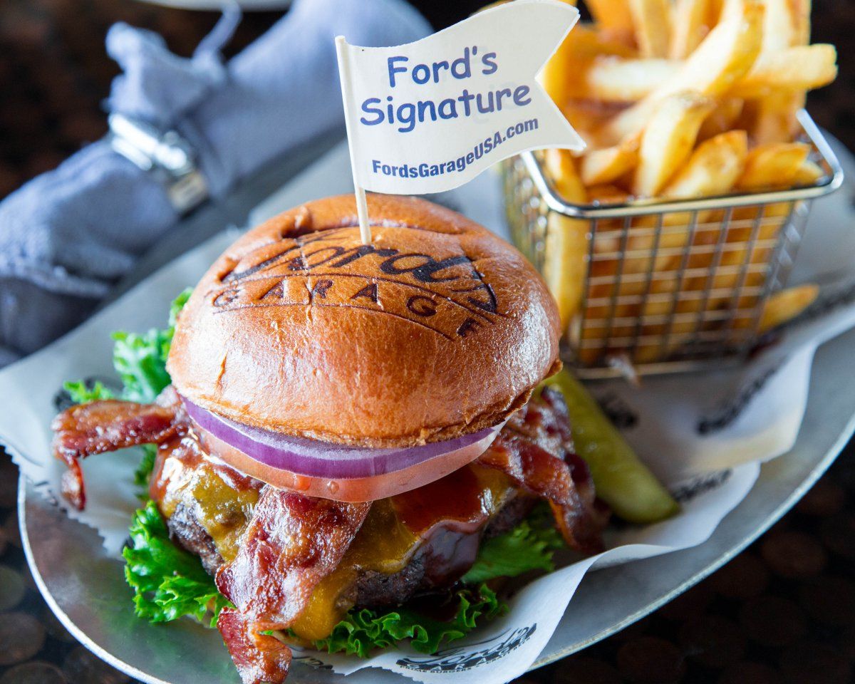 Fords garage usa on twitter happy national hamburger day whats your favorite fords garage burger nationalhamburgerday burgers