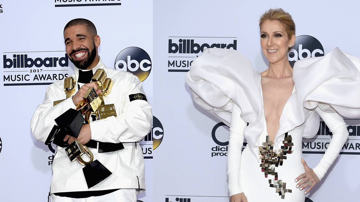 But what do you think Drake and Céline Dion talked about? https://t.co...