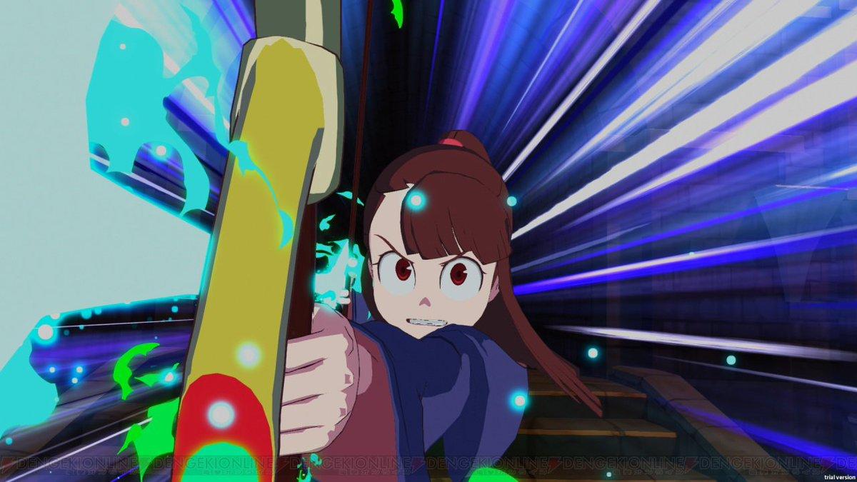 『リトルウィッチアカデミア』ゲーム化決定。未来を目指す魔女たちの物語がPS4で動き出す!   #LWA_jp