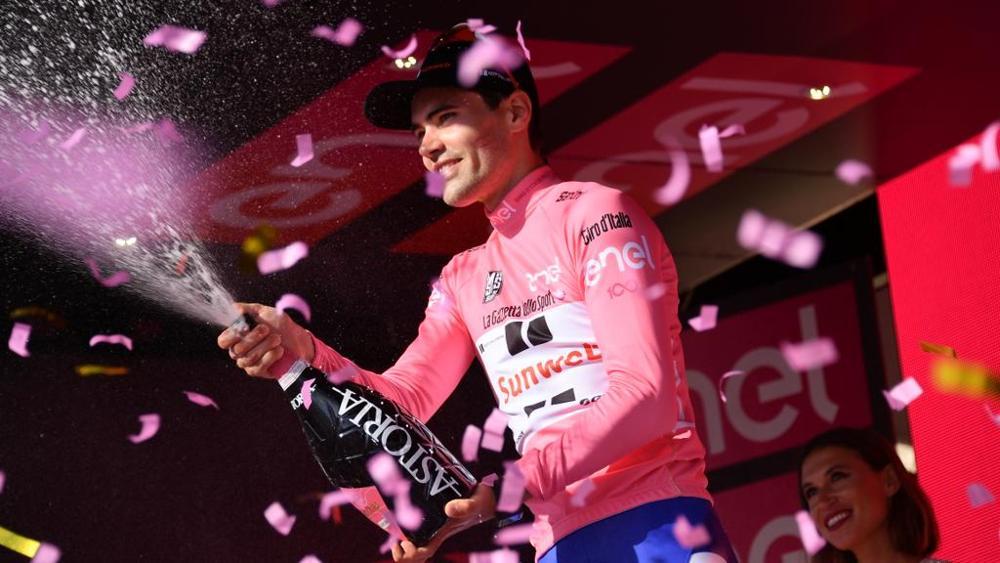 Tom Dumoulin trionfa al Giro d'Italia 2017 di ciclismo