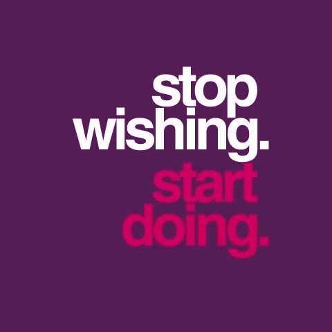 &quot;stop #wishing. #start doing-&quot; #goals #ThinkBIGSundayWithMarsha #goalsonsunday <br>http://pic.twitter.com/OqVmyHmvg0
