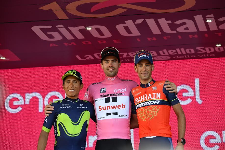 Giro d'Italia 2017 a Tom Dumoulin, Quintana 2° e Nibali 3°. Grande Festa a Milano