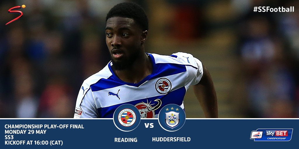 Huddersfield take on Reading tomorrow with a spot in the Premier Leagu...