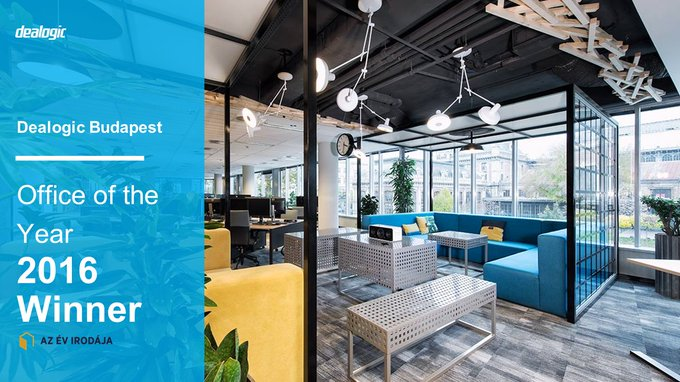 ICYMI we won the 2016 Office of the Year Award for the 2nd time in Budapest! Take a tour to see what the judges saw: https://t.co/XBZ0dtRduj
