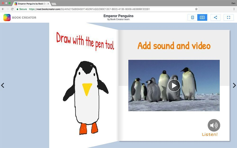 YEAH! You can now publish your #BookCreator books and read them online.   http:// bit.ly/2rXd2By  &nbsp;    #edtech #ipaded #reading #publishing <br>http://pic.twitter.com/NYA9ayAxyZ