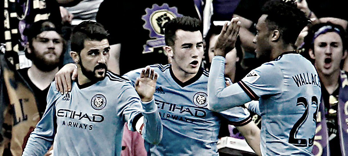 Is this the best @NYCFC has ever played? @Guaje7Villa says yes: https:...