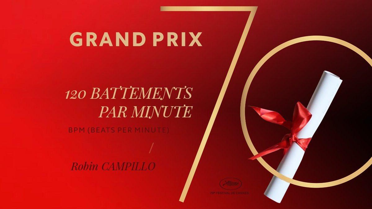 Grand Prix 120 Battements par Minute di Robin #Campillo #Cannes70