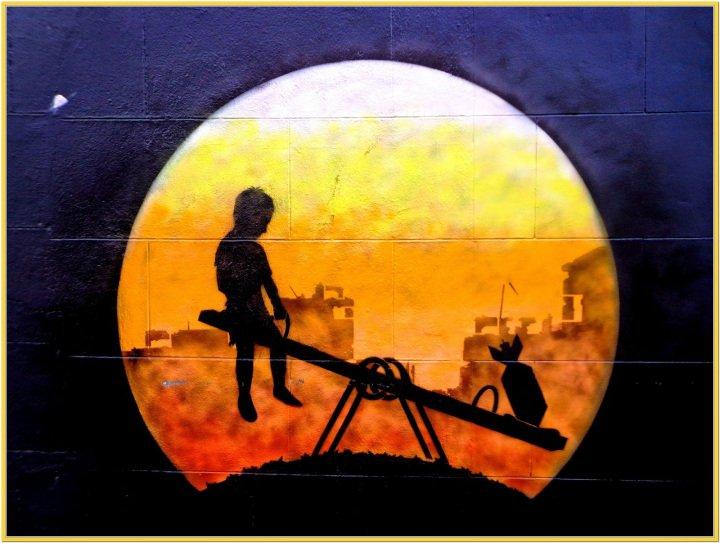 #War is not a #game, it´s unfair – #London #StreetArt – Be ▲rtist – Be ▲rt Magazine  http:// crwd.fr/2qPRKas  &nbsp;  <br>http://pic.twitter.com/hNZBNNT02D