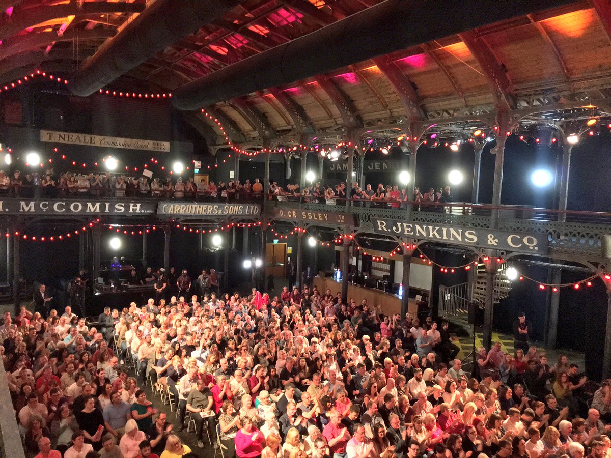 Packed venue in Glasgow to hear @jeremycorbyn speak to a rally tonight. Vote Labour on June 8. #GE2017 https://t.co/qU54RoxaSg