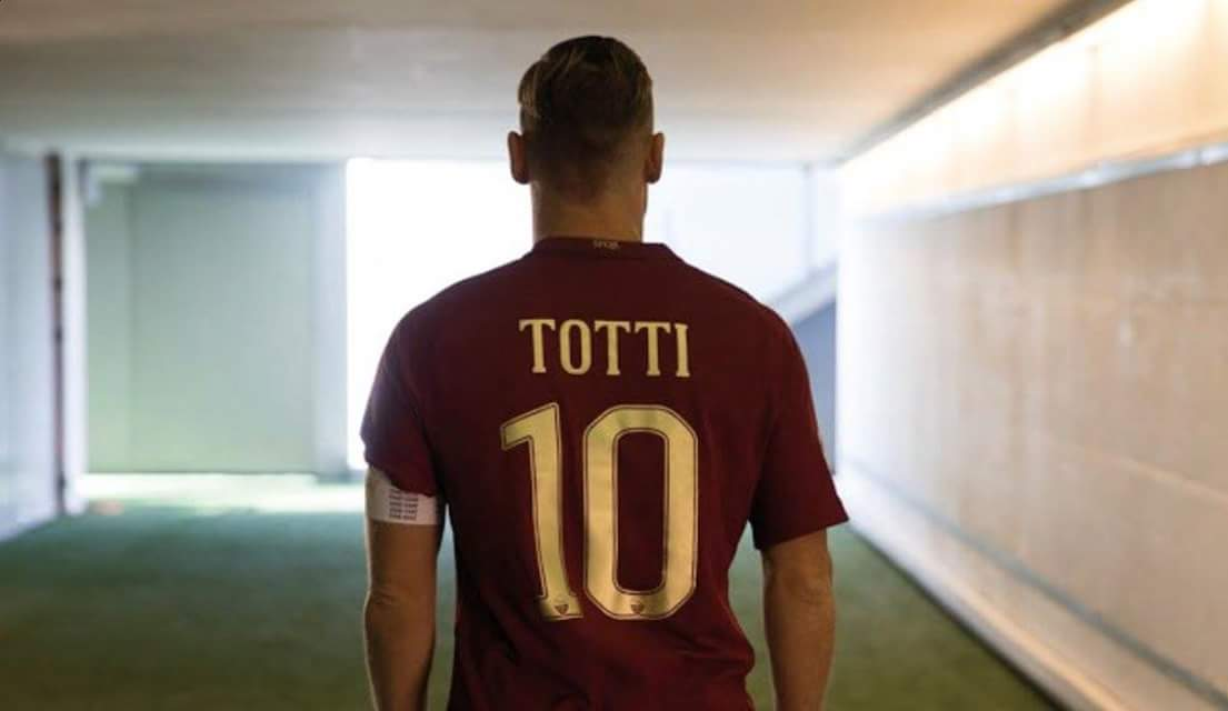 Francesco #Totti:  Years: 25  Games: 785  Goals: 307  Assists: 123  Trophies: 5  Clubs: 1   End of an era   @OfficialASRoma #Roma<br>http://pic.twitter.com/FcIzZ1Hl25