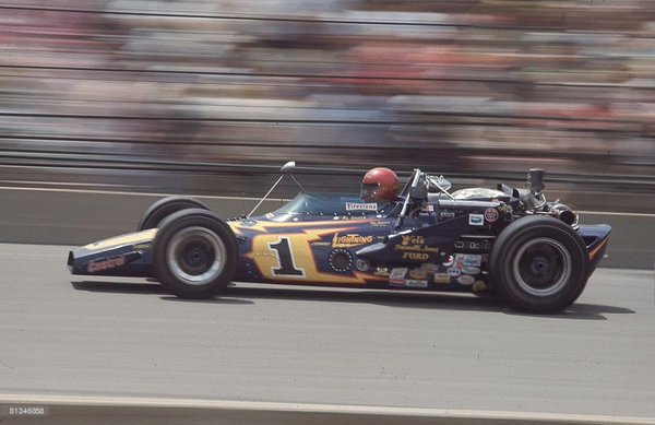 46 years ago today, Al Unser won the 1971 Indianapolis 500.  Happy 78th birthday Al Unser.