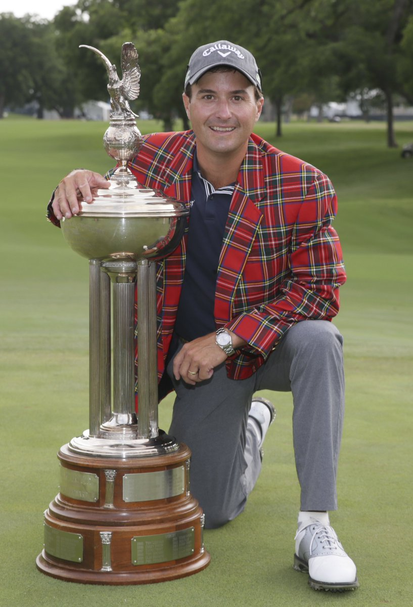 Kevin Kisner - 2017 Dean & Deluca Invitational Champion at Colonial (Photo from Georgia Golf/Twitter)