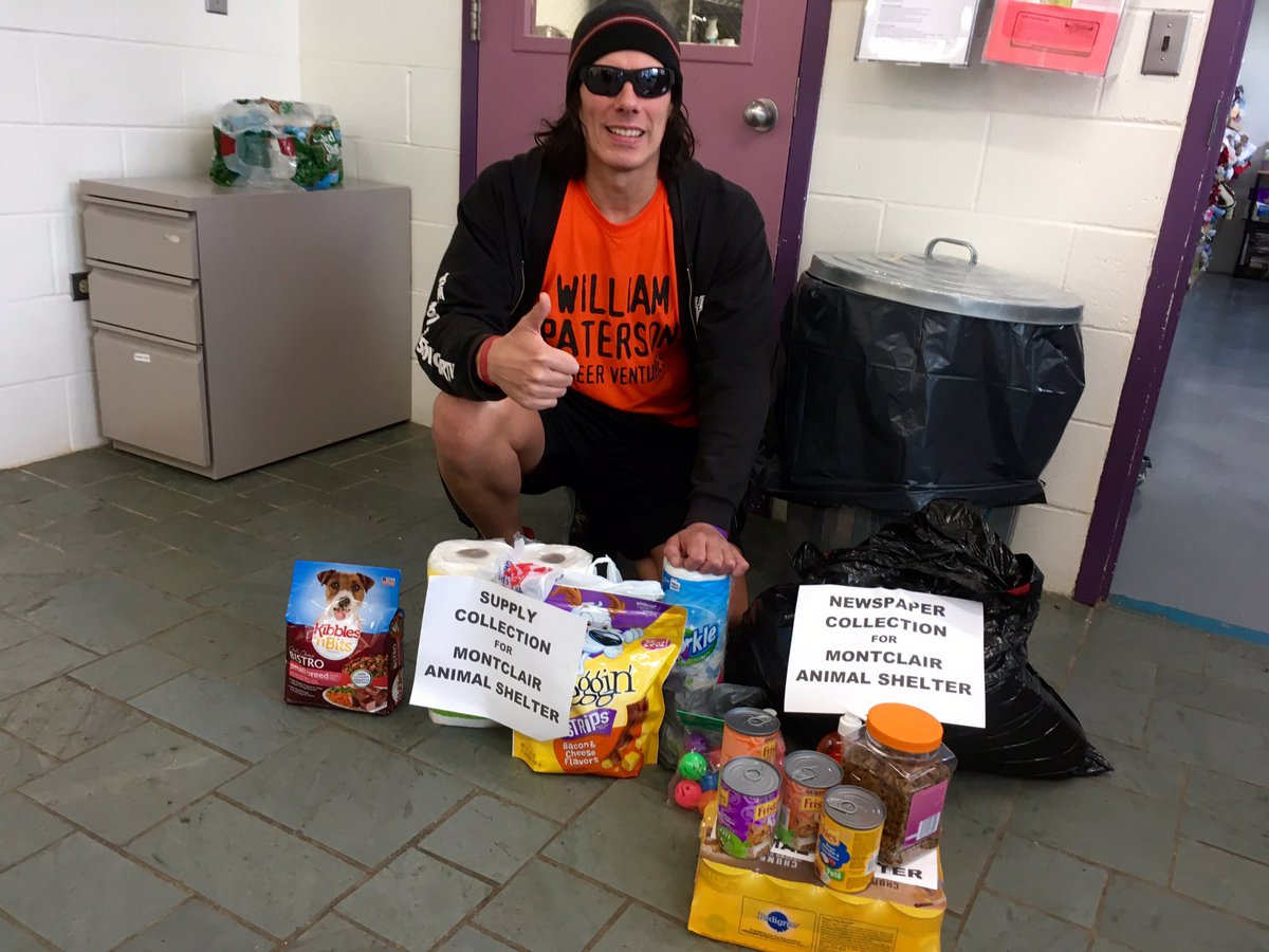 IWF #Community Outreach at #Montclair Animal Shelter today to drop off food &amp; supplies donated by Fans!  @KevinKnightNJ<br>http://pic.twitter.com/DEovwt3ZlM
