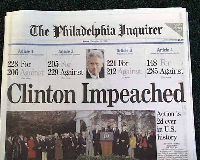 Hillary seems to 'remember' the Nixon impeachment that wasn't and forgotten the one that actually occurred