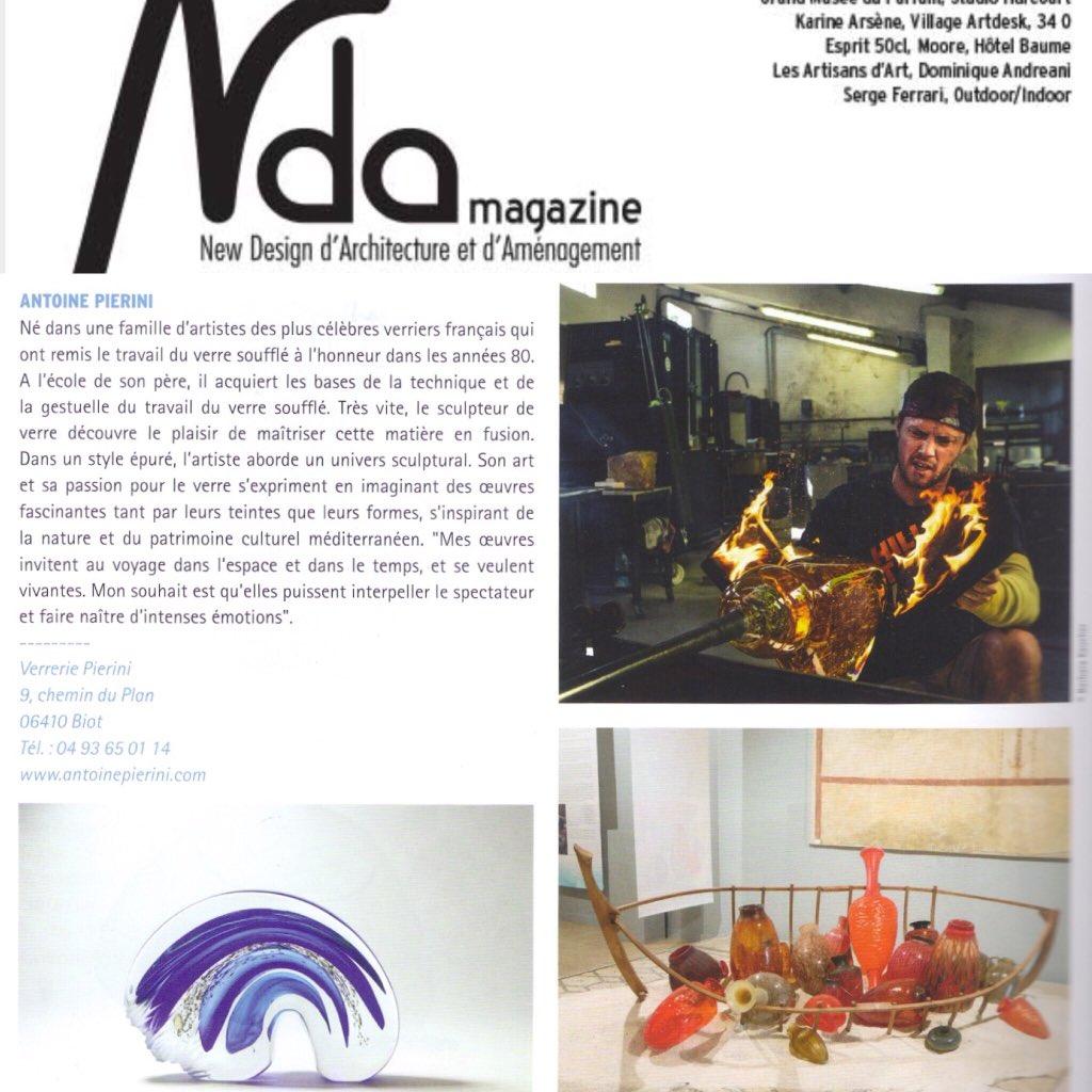 Nice #paper  in The New #Design #Architecture  #press #art #antoinepierini #biot #cotedazurnow #CotedAzurFrance   http://www. antoinepierini.com  &nbsp;  <br>http://pic.twitter.com/7tcgZJLNRv