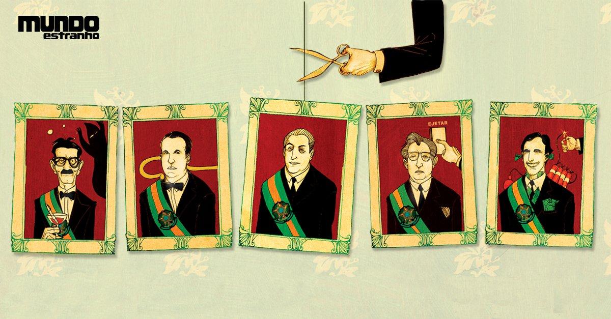 #BombouNaME Qual foi o presidente brasileiro que ficou menos tempo no poder? https://t.co/bWPpomIgUf