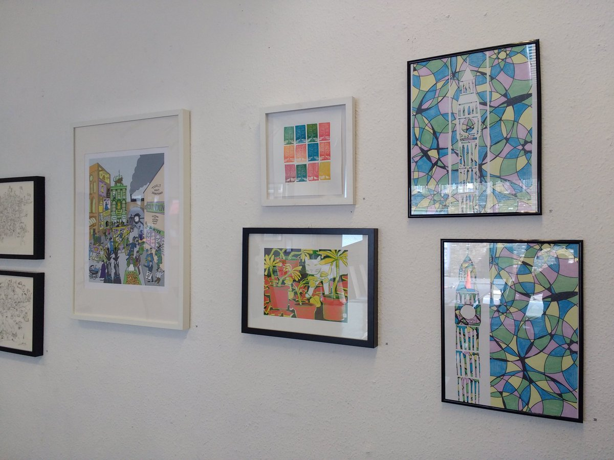 We&#39;ve been hanging &quot;Wonder&quot; today, our @E17ArtTrail community exhibition. It&#39;s fantastic, a must see! Open from 1 June. #e17arttrail #wonder <br>http://pic.twitter.com/bI0lvjsUmD
