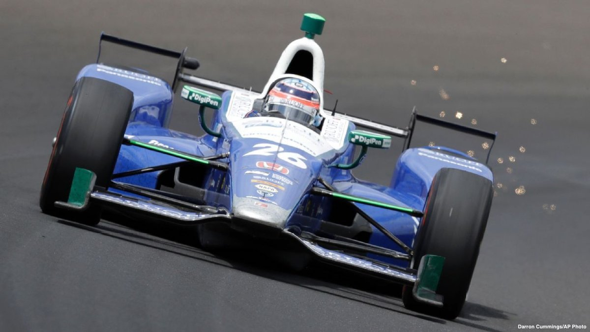 NEW: Takuma Sato wins Indianapolis 500 for the first time in his caree...