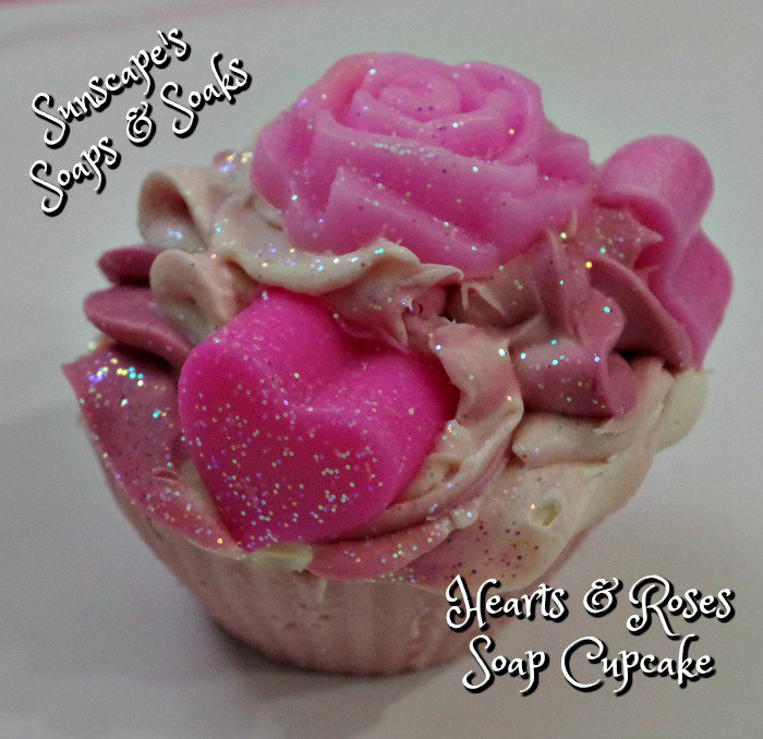 #Cupcake Soaps for that special someone with Cherry Kiss scent at Sunscape&#39;s Soaps &amp; Soaks on #Etsy . #valentine  http:// tinyurl.com/gmuhggz  &nbsp;  <br>http://pic.twitter.com/fSJashvO6J